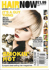 HAIR NOW UNISEX STYLE GUIDE 2013 Europe's Best 50 TOP Summer Looks August/Sept