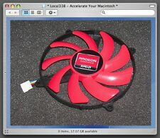 65mm ATI AMD Radeon Video Card Fan 39mm 4Pin FD7015H12S 12V 0.43A #M3474 QL kc1