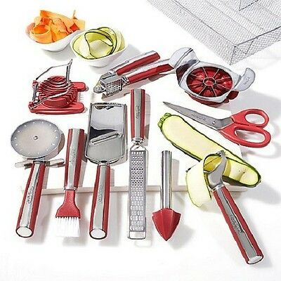 Wolfgang Puck Complete Kitchen Tool Kit 11 Pieces WP11GARN13 Factory Refurbished