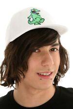 WHITE   RUGRATS DANCING GREEN REPTAR BASEBALL BALL HAT CAP