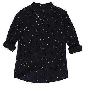 RRP £89.95 REDUCED BRAND NEW Maison Scotch Dropped Shoulder Snow Leopard Shirt