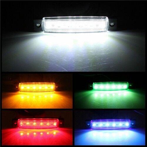 1x LED Car Truck Trailer Side Marker Indicators Clearance Markers Light Lamp 12V