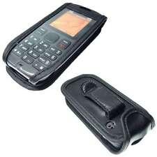 Nokia 100 / 101 Handytasche Ledertasche mit Gürtelclip + Sichtfenster