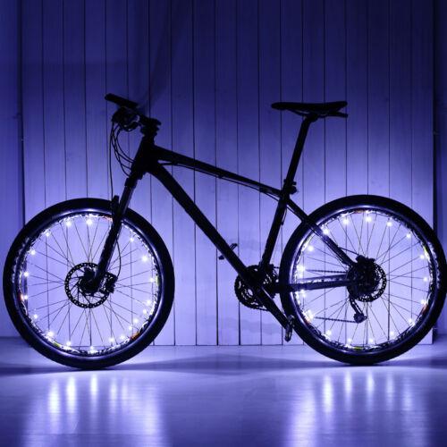 Leadbike Fahrrad Hot Wheels sprach Lichter Nachtfahrt USB aufladbare Drahtlampe