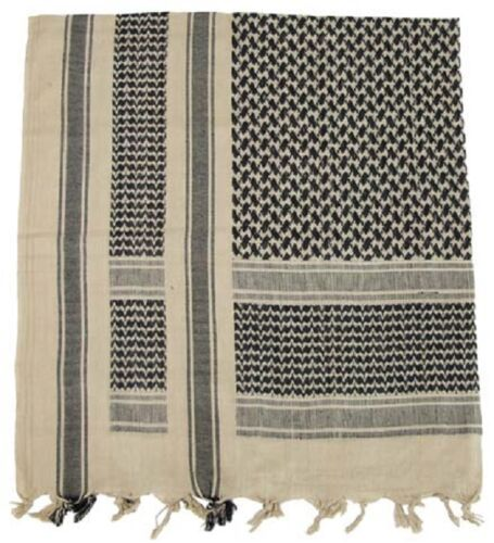 SHEMAGH HEAD NECK SCARF PLO 100/% COTTON MILITARY ARMY SUN WIND PROTECTION NEW