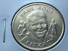 PAUL ROOS - FITZROY LIONS HERALD SUN AFL COMMEMORATIVE MEDAL COIN