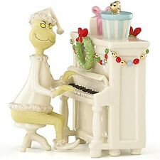 "Lenox Grinch's Christmas Melody 2014 Dr. Seuss 6"" Fine China Figurine"