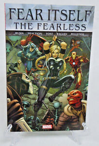 Fear-Itself-The-Fearless-1-2-3-4-5-6-7-8-9-Marvel-Comics-TPB-Trade-Paperback-New
