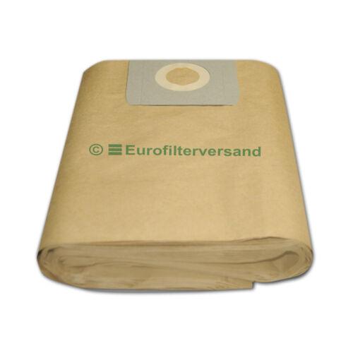 10 Staubbeutel für Kärcher NT 361 Eco M A Staubsaugerbeutel Filter Filter-säcke