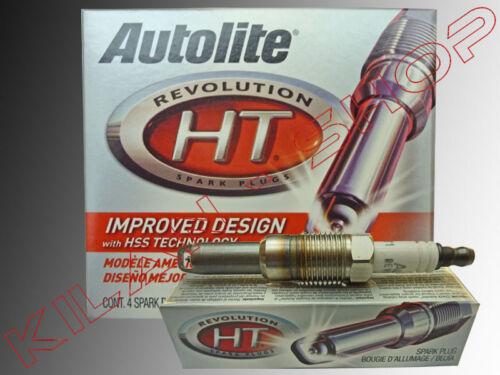 8 X CANDELE AUTOLITE PLATINUM FORD MUSTANG GT 4.6 v8 2005-2007 ht1 CANDELA