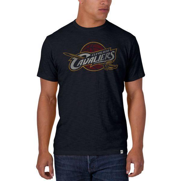 NBA T-Shirt CLEVELAND CAVALIERS CAVS navy navy navy Scrum Logo 47Brand Basketball c782ce