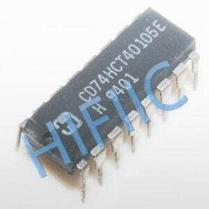 5PCS CD74HCT40105E High-Speed CMOS Logic 4-Bit x 16-Word FIFO Register DIP16