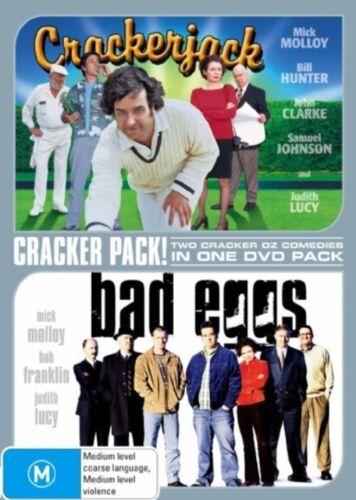 1 of 1 - Crackerjack / Bad Eggs (DVD, 2 Discs)  Region 4 - Very Good Condition