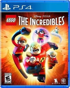 LEGO-The-Incredibles-PS4-Brand-New-Sealed-PlayStation-4-Free-Shipping