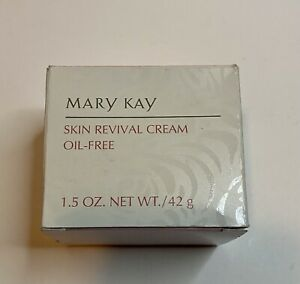 Mary Kay Oil-Free Skin Revival Cream 1.5 Oz. #6433 Vintage Discontinued
