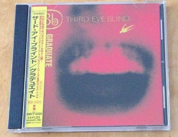 THIRD EYE BLIND - GRADUATE JAPANESE PROMO CD & OBI SASH