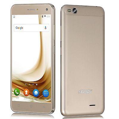 XGODY X15 Desbloquear 1+8GB Quad core Android 5.1 smartphone móvil libre Oro