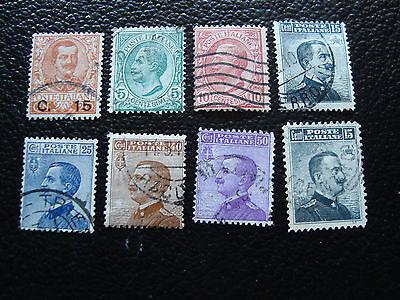 Yvert Und Tellier Nr Briefmarke 75 A 82 Gestempelt Methodisch Italien e a11