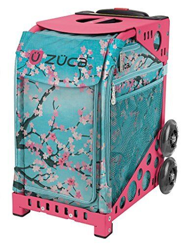 Zuca Hanami Sport Insert Bag & Pink Frame with Flashing Wheels