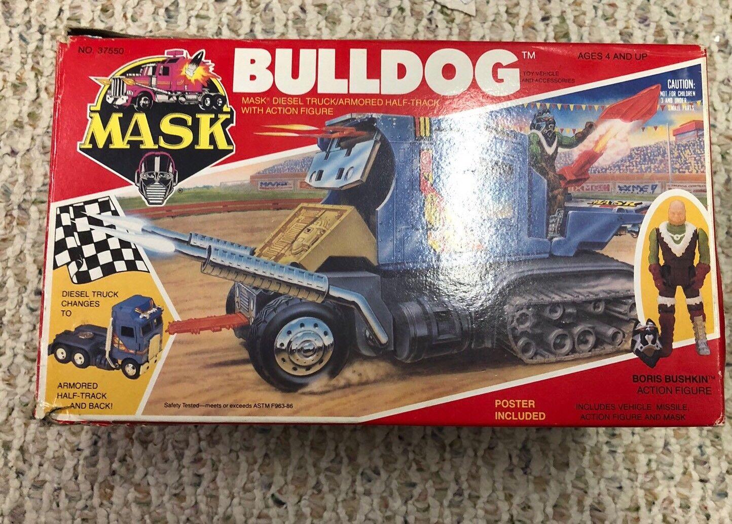 MASK M.A.S.K. Bulldog Bull Dog Dog Dog Lot d72b28