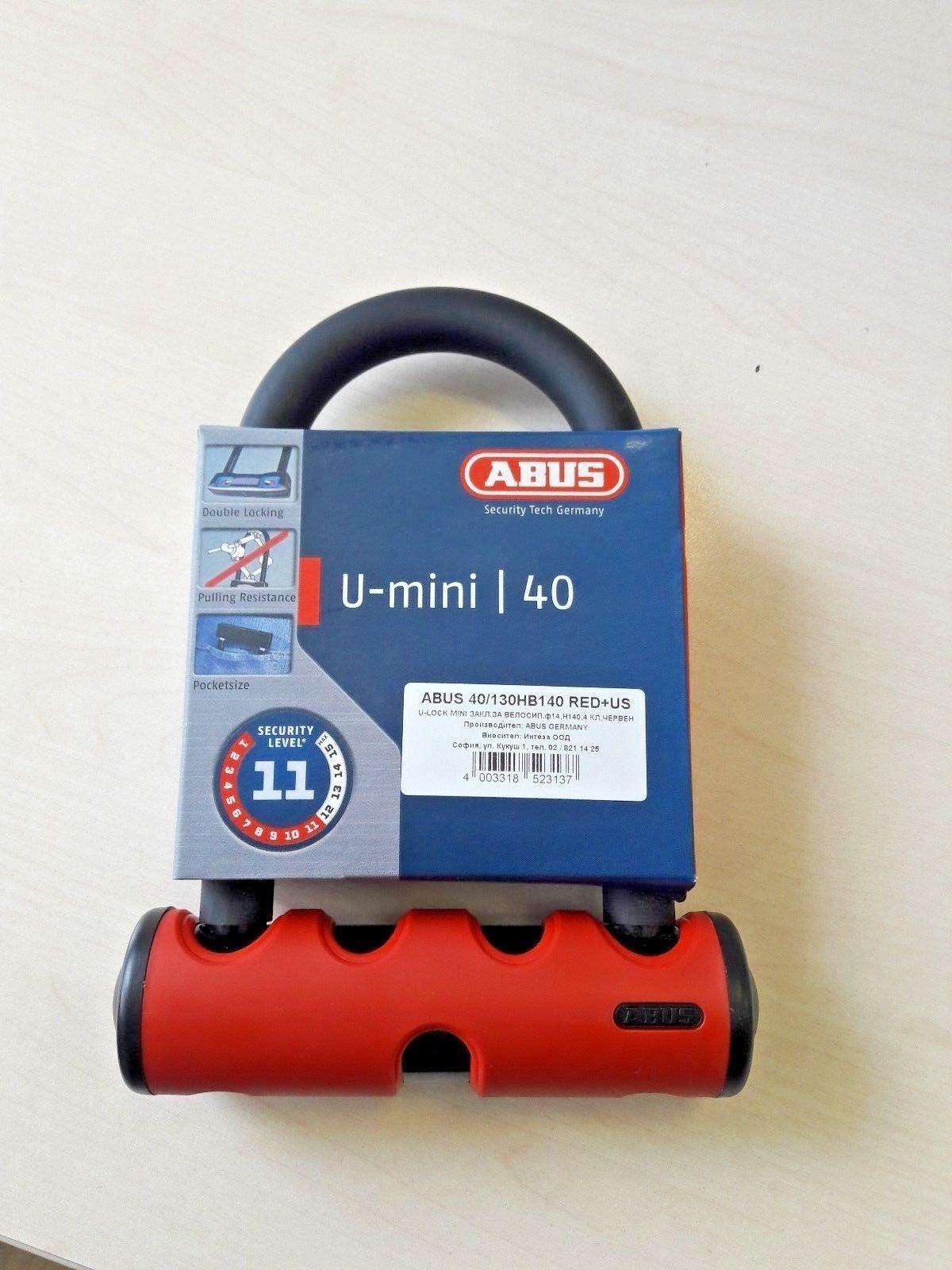 bicicletta Lock Aautobus 40130HB140 UMini ULock