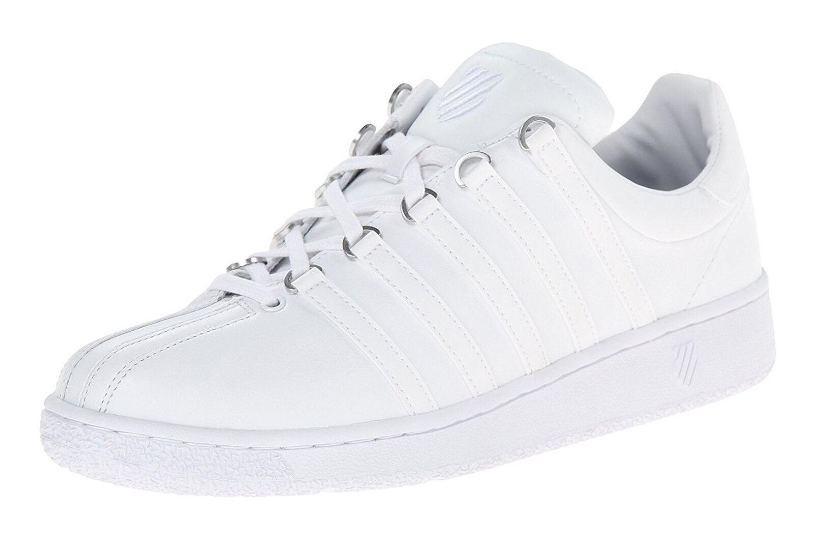 K-Swiss Classic VN blanco, blanco Mens zapatillas Tennis zapatos Item 03343-101