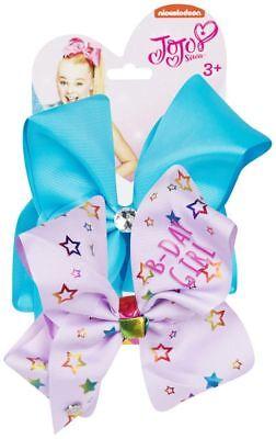 Simbolo Del Marchio Neon Blu/viola Compleanno Ragazza Jojo Siwi Bow Set-costume Accessori Per Capelli- Adatto Per Uomini E Donne Di Tutte Le Età In Tutte Le Stagioni