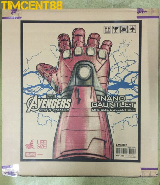 Ready! Hot Toys LMS007 AVENGERS: ENDGAME NANO GAUNTLET LIFE-SIZE COLLECTIBLE