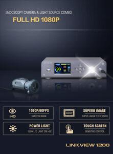 1080P-HD-Endoscopy-Camera-100W-LED-Light-Source-Combo-Borescope-Medical