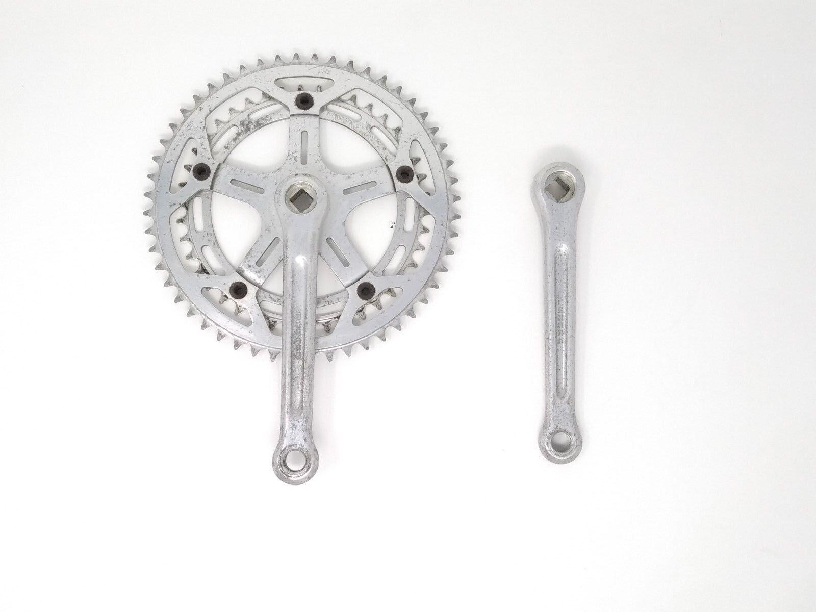 Vintage Kurbelgarnitur crankset Legnano 170 52 42 42 42 2d2cb7
