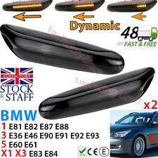 Dynamic LED Side Indicator Smoke Turn Signal BMW E90 E92 E60 E87 E82 LUXFACTORY