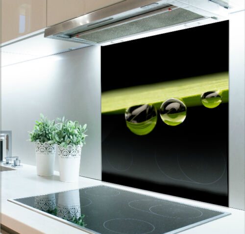 60cm W X 75cm H Impresión Digital De Vidrio Templado 287 salpicaduras resistente al calor