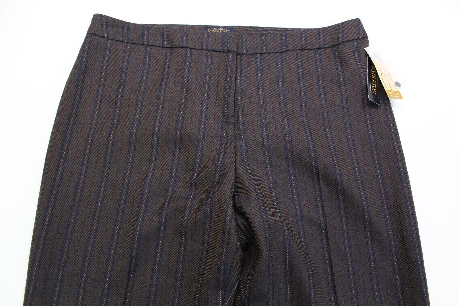 Pendleton women's 100% WOOL LINED pants 18 MSRP  179