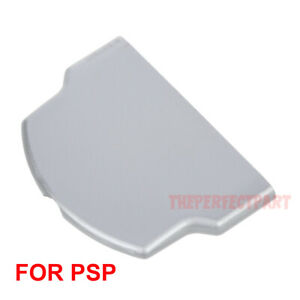 Replacement-Battery-Back-Door-Cover-Case-For-Sony-PSP-3000-3001-2000-Slim-Silver