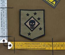"Ricamata / Embroidered Patch Marsoc ""Marine Raider"" Tan with VELCRO® brand hook"