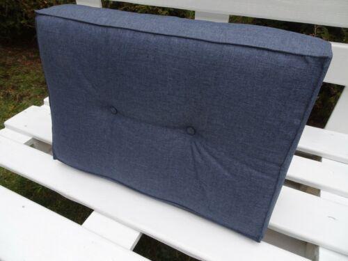 Palettenkissen Schaumkissen Kissen Palettensofa Euro Marineblau
