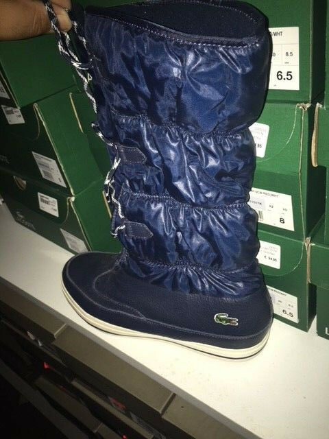Damenschuhe Lacoste TUILERIE PS SPW Stiefel DK BLU/OFF TEXT Stiefel SPW Ski Winter Boot Gr:41 8b3cba