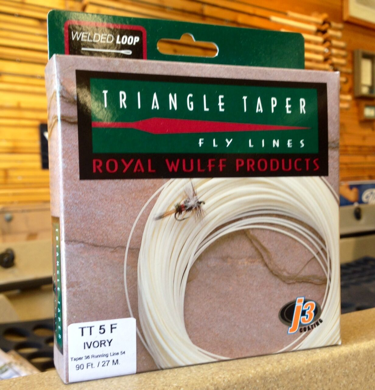 Royal Wulff Triangle Taper Fly Line  Streams of Dreams Fly Shop