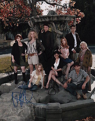 Eastwick Signed 11x14 Photo By 6 Including Lindsay Price Rebecca Romijn Sar...