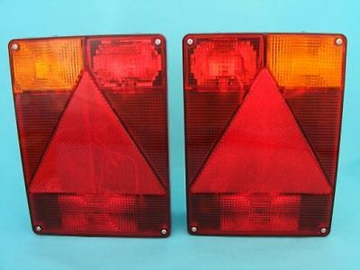 Radex Trailer Lights With 8m Harness 7 Pin Plug /& Quick Fit Connections 2900