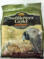 Higgins Safflower Gold Natural Parrot Diet Seeds,nuts,fruit Mix, Bird Food 2x3lb