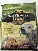 Higgins Safflower Gold Natural Parrot Diet Seeds,nuts,fruit Mix, Bird Food 3lb