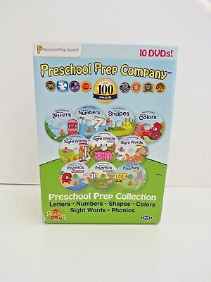 Preschool Prep Company 10 DVDs Pack Collection Letters ...