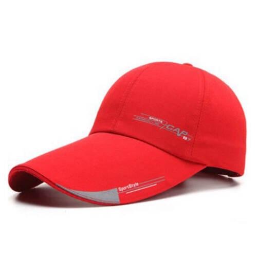 2018 Mens Sports Cap For Fish Outdoor Baseball Cap Long Visor Brim Shade Sun Hat