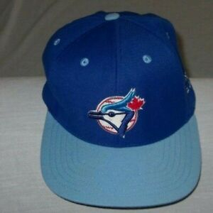 Vntg-Toronto-Blue-Jays-MLB-Snapback-Hat-American-Needle-cooperstown-collection
