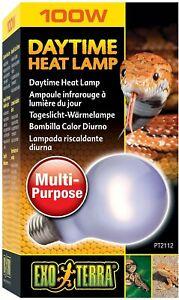 Exo Terra 100 Watt Daytime Heat Lamp   UVA Reptile Light