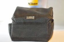 Nikon CoolPix or lens padded case Black Perfect for 85mm 1.8 D 50mm 1.4 D