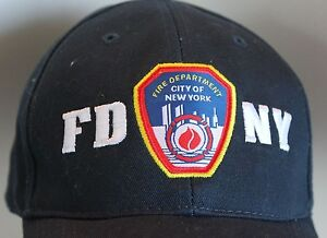 d19f23d4e NEW FD NY Cap Hat Fire Department New York City Patch One Size ...