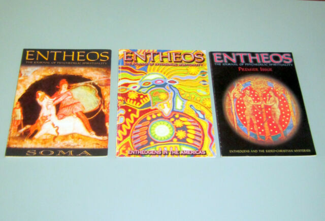 3 JOURNALS ENTHEOS PSYCHEDELIC SPIRITUALITY ENTHEOGENS JEWISH CHRISTIAN MYSTERY