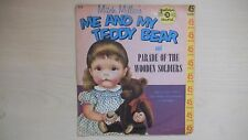 Golden Records Mitch Miller's ME AND MY TEDDY BEAR 45rpm 1959